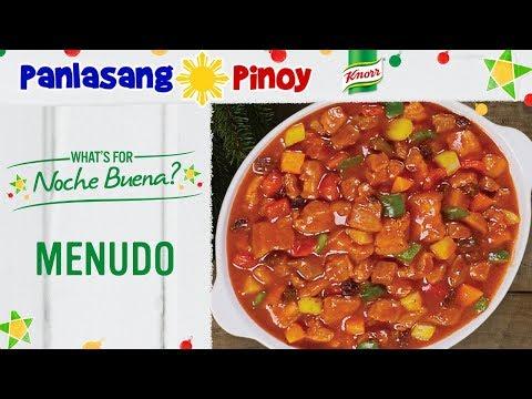 How to Cook Pork Menudo - Panlasang Pinoy