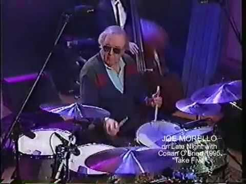 Joe Morello on Conan O'Brien - Take Five