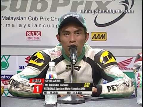 Round 1- Race News CP 115 - 2012 PETRONAS Malaysian Cub Prix Championship