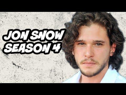 Game of Thrones Season 4 Preview - Jon Snow