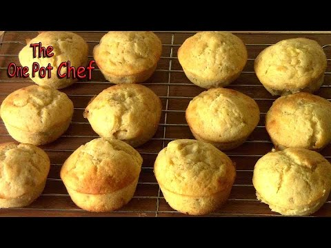 Banana Muffins | One Pot Chef