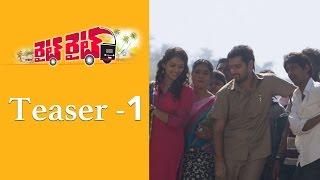 Right Right - Teaser 1 | Sumanth Ashwin | Prabhakar | Pooja Jhaveri