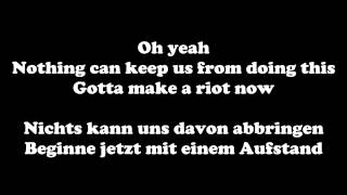 One Ok Rock - Riot!! [ger sub + Lyrics]