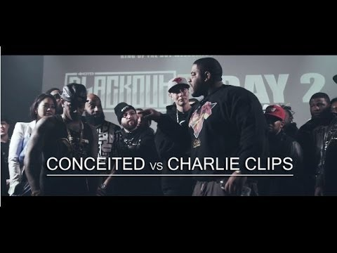 KOTD - Rap Battle - Charlie Clips vs Conceited *Co-Hosted By Smack White*