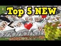 Minecraft Xbox - Top 5 NEW VERSION Survival Features