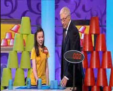 Paul O Grady Speed Stacking