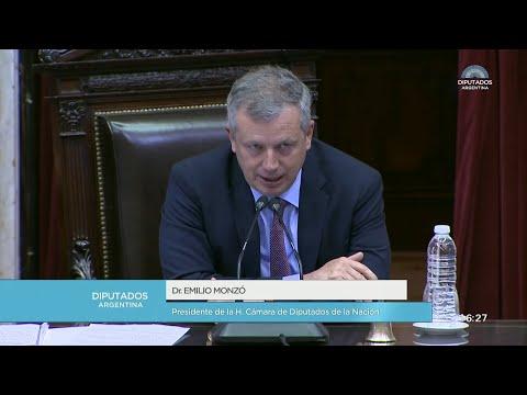 El Congreso tiene sesiones especiales por la crisis en Bolivia