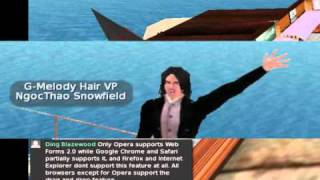 HTML5 Browser Compatibility (Second Life Edition) Presentation