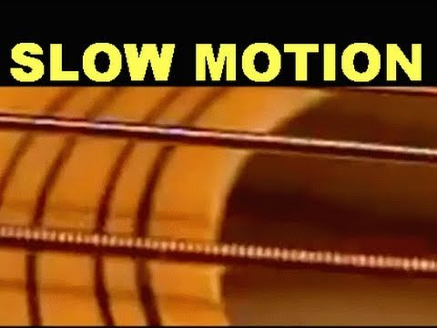 Slow Motion GUITAR Strings  -2000/4000% slower