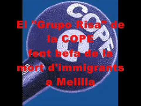 COPE GRUPO RISA 1 IMMIGRANTS MELILLA