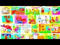 Фрагмент с начала видео Карикатура - Преглед при гинеколог