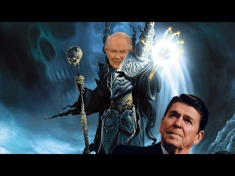 Batshit Insane Pat Robertson Wants Zombie Ronald Reagan For President