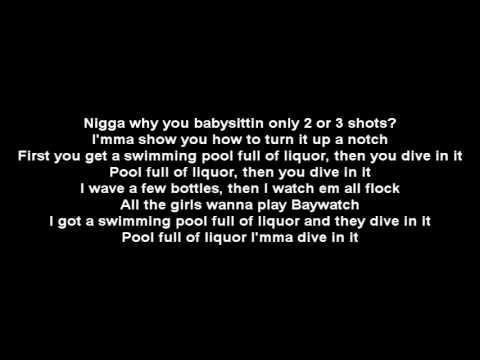 Kendrick Lamar - Swimming Pools (Drank) Lyrics(Mirror)