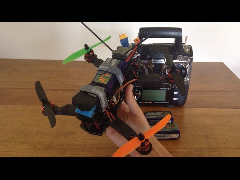 ZMR250 Mini Quad Review and Flight - UC2c9N7iDxa-4D-b9T7avd7g