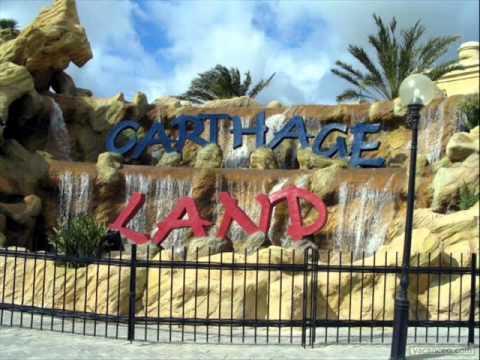 le parc d'attraction: carthage land