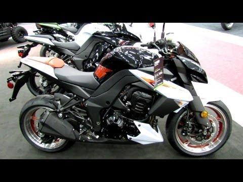 2013 Kawasaki Z1000 - Walkaround - 2013 Quebec City Motorcycle Show - UChI4p4l9OlVJ41c6AYQBtlw