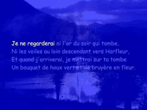 DEMAIN DES L-AUBE DE VICTOR HUGO (LISONS LE POEME)