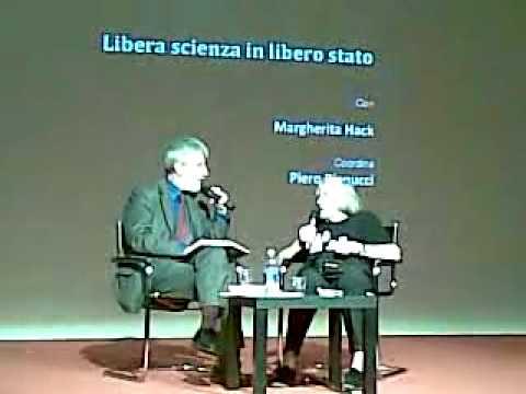 Margherita Hack - Libera Scienza in Libero Stato (4/8)