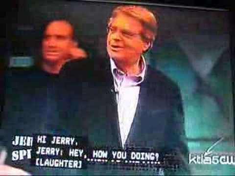 Jerry Springer (Talk To The Paw)-- Part 2