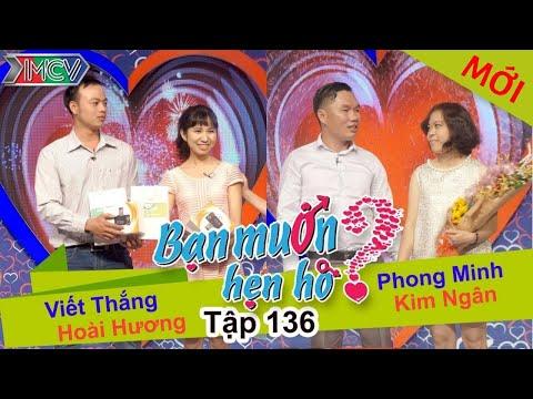 BẠN MUỐN HẸN HÒ – Tập 136 | Hoài Hương – Viết Thắng | Phong Minh – Kim Ngân | 25/01/2016