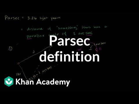 Parsec Definition