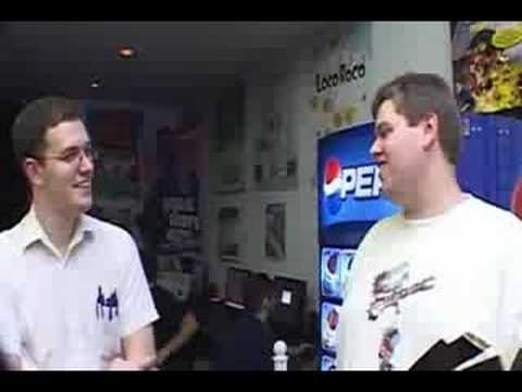 AVGN, Captain S, Nostalgia Critic at Digital Press part 3 of 8