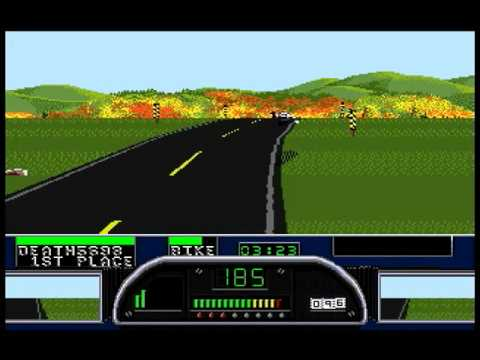 Road Rash II - Vermont - Level 5 - Wild Thing 2000