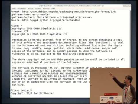 Image from Python-Code für Debian paketieren