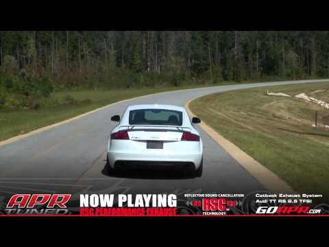 APR TT RS RSC Performance Catback Exhaust System