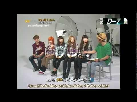 [Vietsub] Nichkhun (2PM) & Miss A – 110805 Mnet Wide News