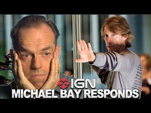 IGN News - Transformers' Michael Bay Strikes Back at Hugo Weaving - UCKy1dAqELo0zrOtPkf0eTMw