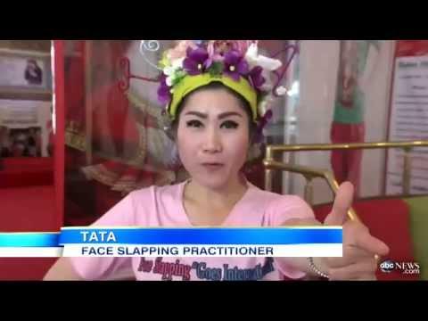 بالفيديو : صفع الوجه بقوة من طرق عمليات التجميل