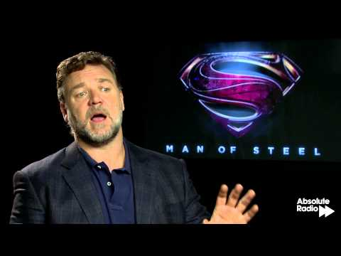 Man of Steel: Russell Crowe (Jor-El) Interview
