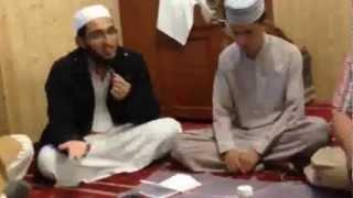 Hafiz Ahsan Amin Teri Naat jab bhi parha kroon