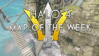 Halo 4 Map of The Week #2 - Buster Thruster (Obstacle Course)