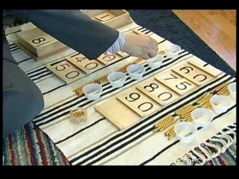 Montessori Math Methods : Ten Board Montessori Activity