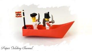 Origami Boat - YouTube