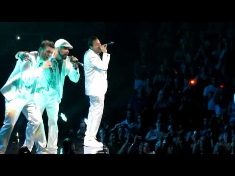 [HD] NKOTBSB - Drowning - Toronto Air Canada Centre ACC - June 8 2011