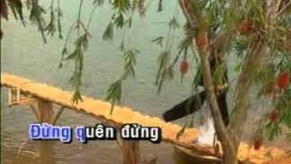 Tình yêu trên dòng sông quan họ - karaoke