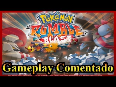 Gameplay Comentado - Pokemon Rumble Blast