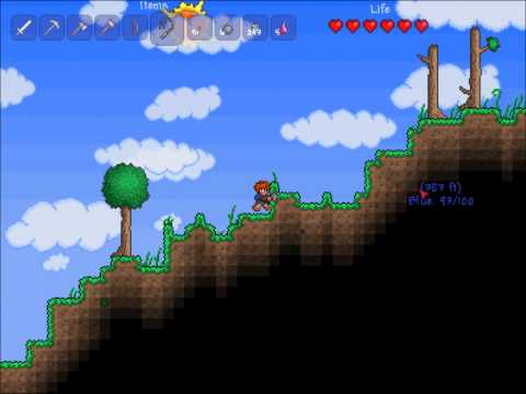 Let-s Play Terraria Pt. 13 I want to run, I want to fly