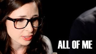 John Legend - All Of Me (Official Music Video - Cover by Caitlin Hart feat. Jake Coco)
