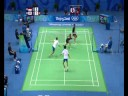 Indonesia vs Korea - Mixed Badminton Doubles - Beijing 2008 Summer Olympic Games