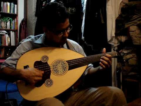 Armenian folk song on Najarian electric oud