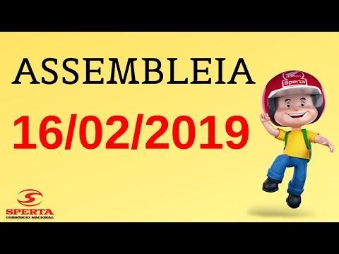 Sperta Consórcio - Assembleia - 16/02/2019