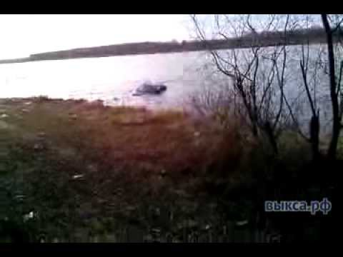 ВПристанском утонул рыбак, съехав намашине вреку