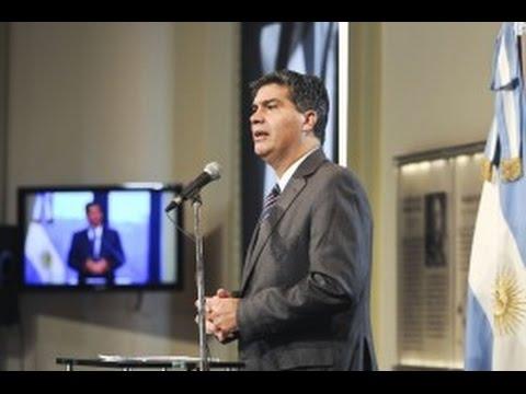 <b>Denuncia de Nisman.</b> Jorge Capitanich dijo que presentar�n escrito a juez Rafecas.