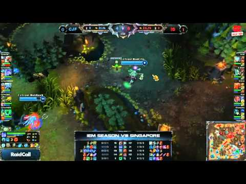 LOL [IEM8] [Singapore] [Chung Kết]  Invictus Gaming vs CJ Entus Frost [01.12.2013]
