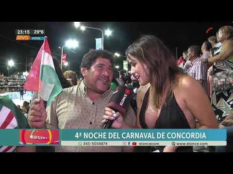 Concordia: Cómo vive el público los carnavales