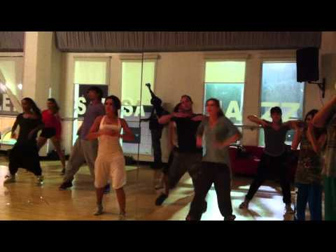 "Dancing in G Madison's Class, Lil' Kim ""The Jumpoff"" w Tari Shen"